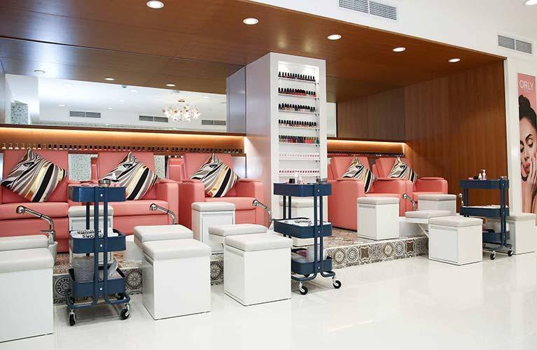 manicure pedicure salon dubai for ladies