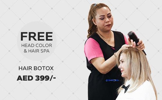 hair botox treatment