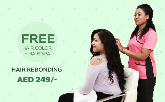 hair rebonding offers