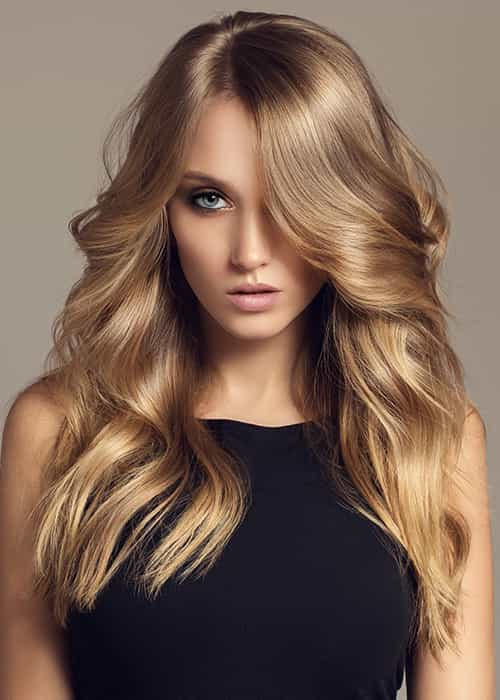 Root Tint  (Ammonia Free ) with Free blowdry