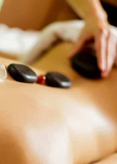Hotstone Massage -75 mins