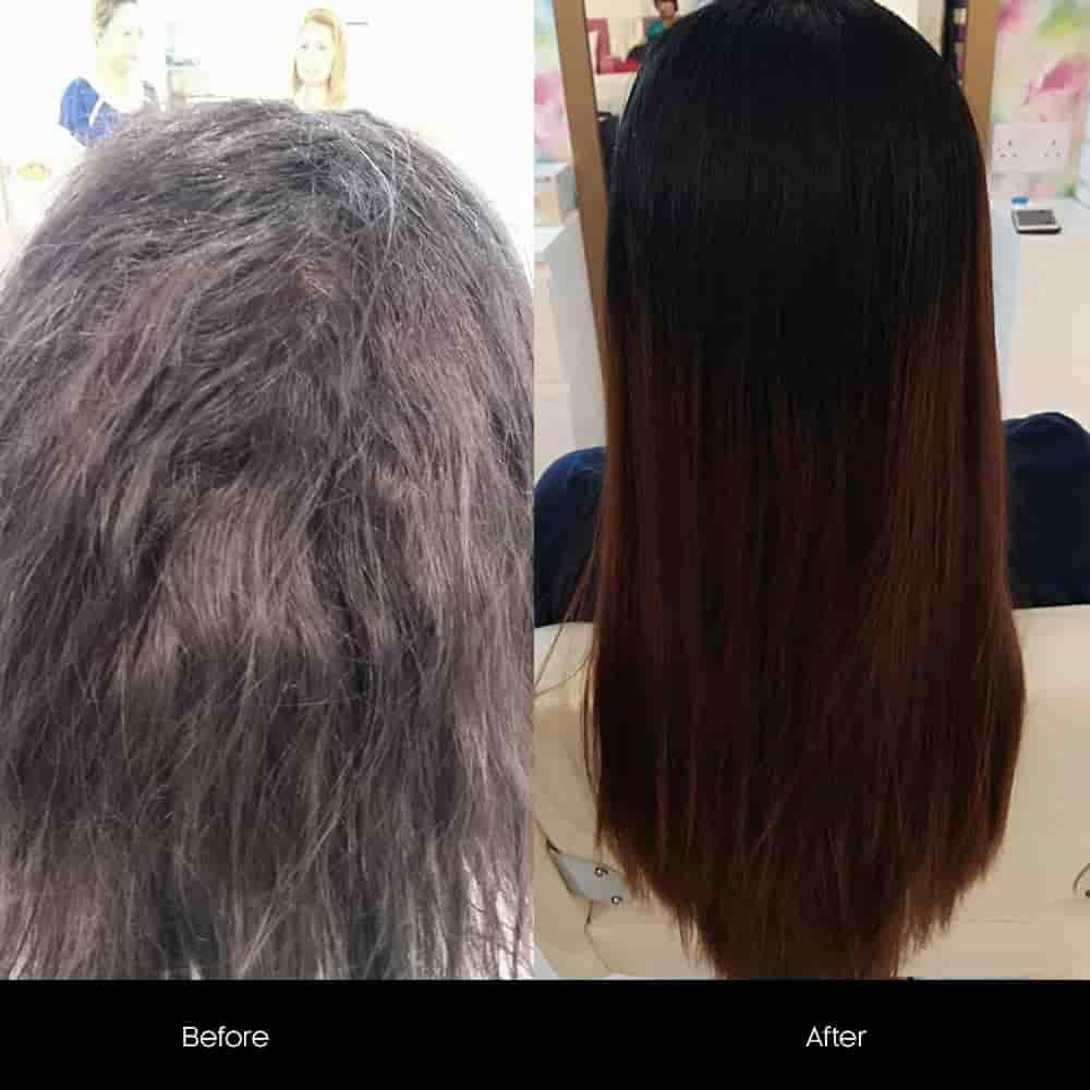 hair rebonding salon offers