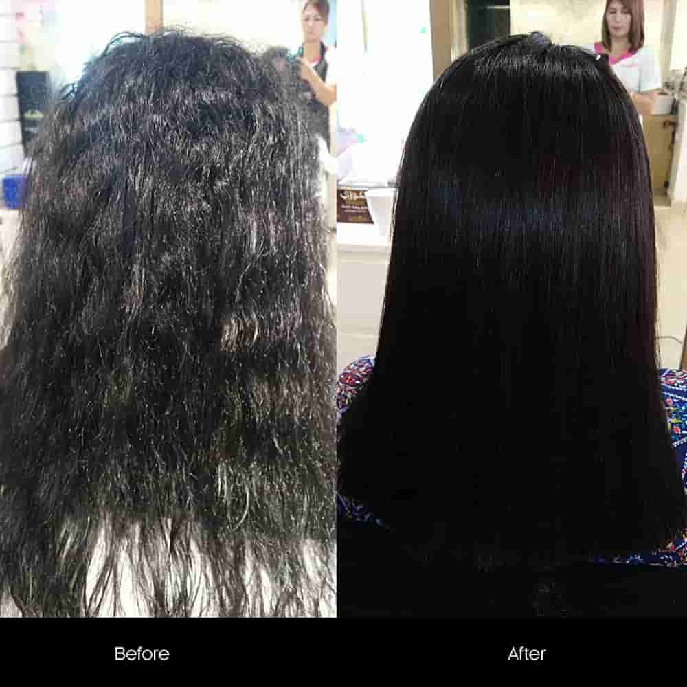 protein treatment for hair before after