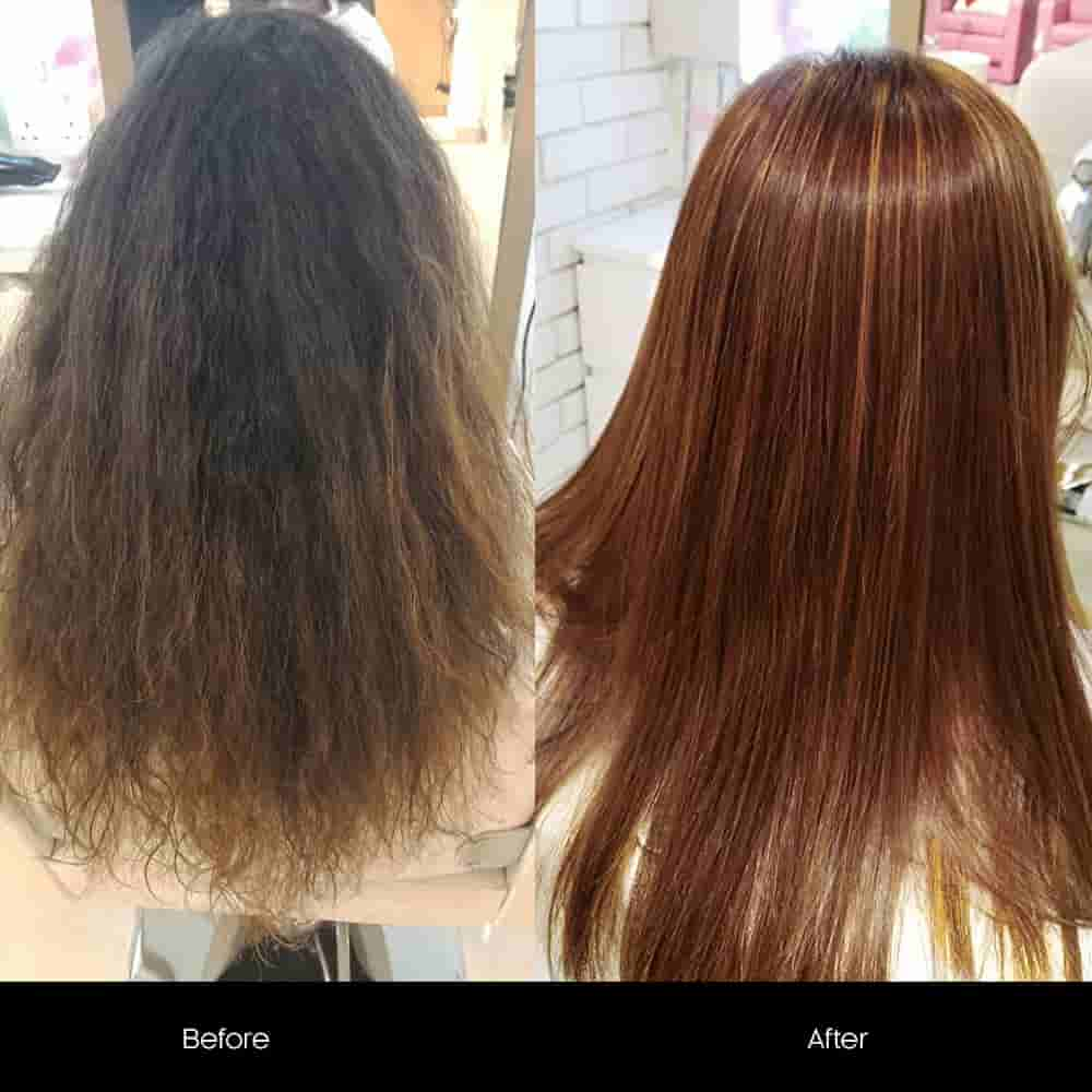 hair protein treatment offers salon