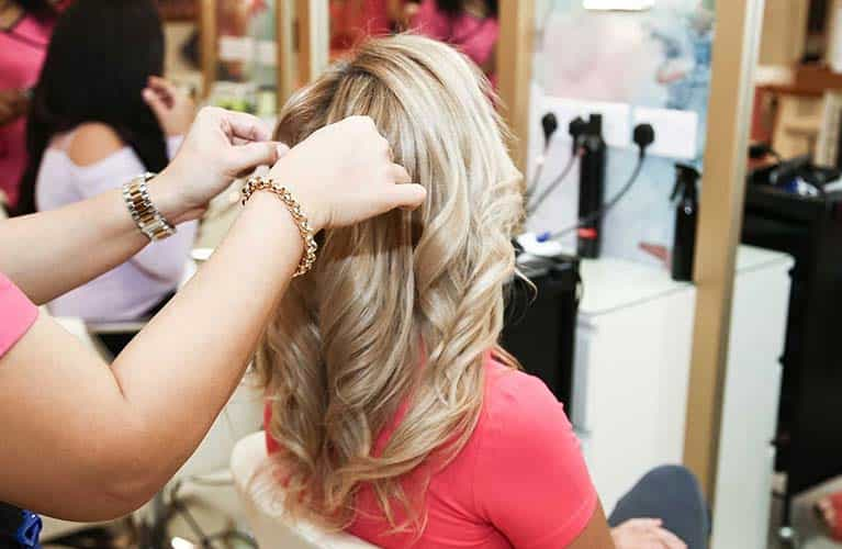 best ladies hair salon dubai
