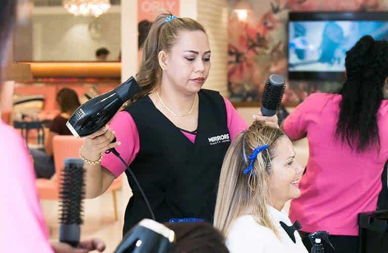 ladies hair salon