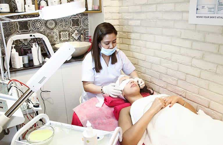 face cleaning dubai