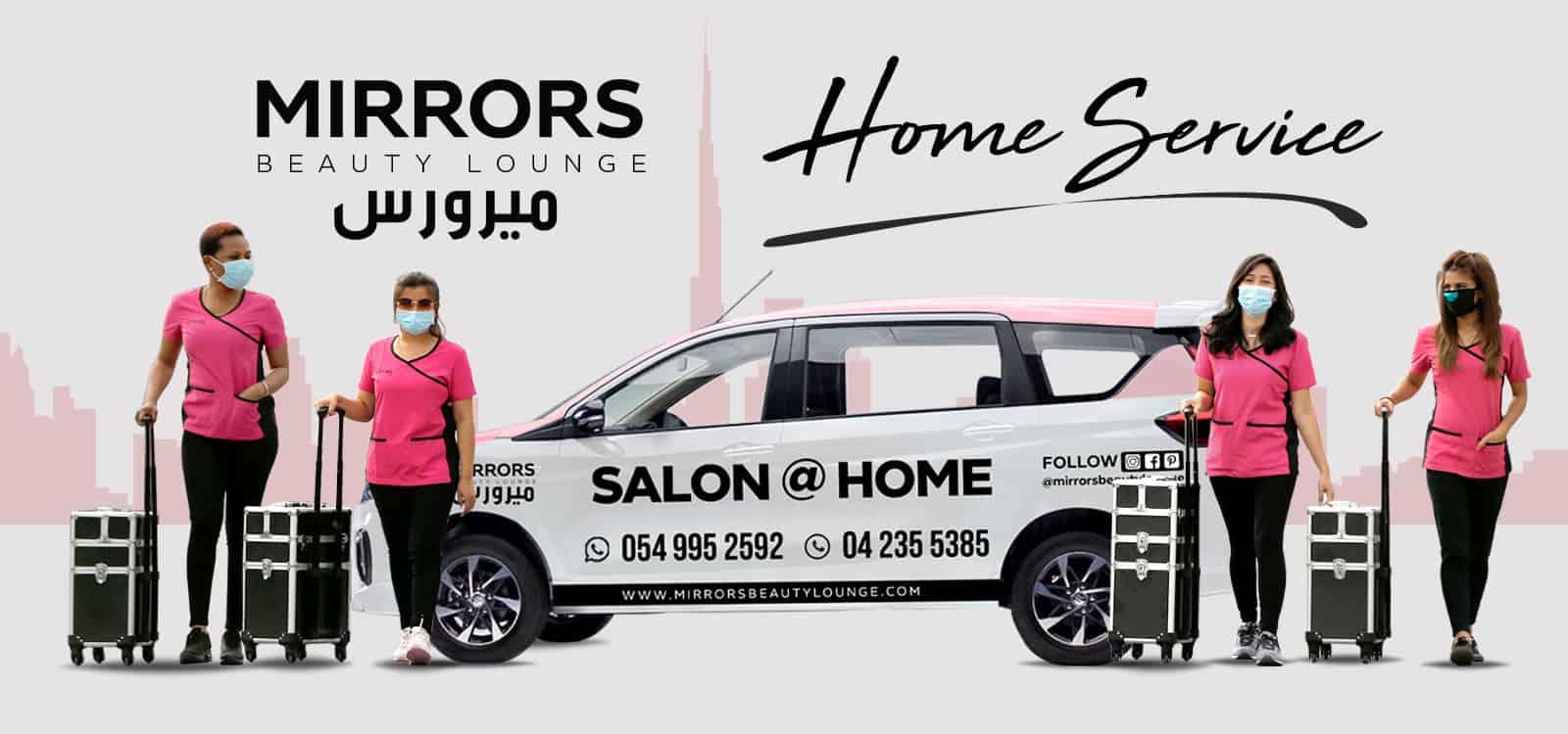 Home Service Salon Dubai