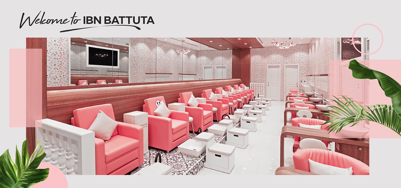 IBN Battuta salon