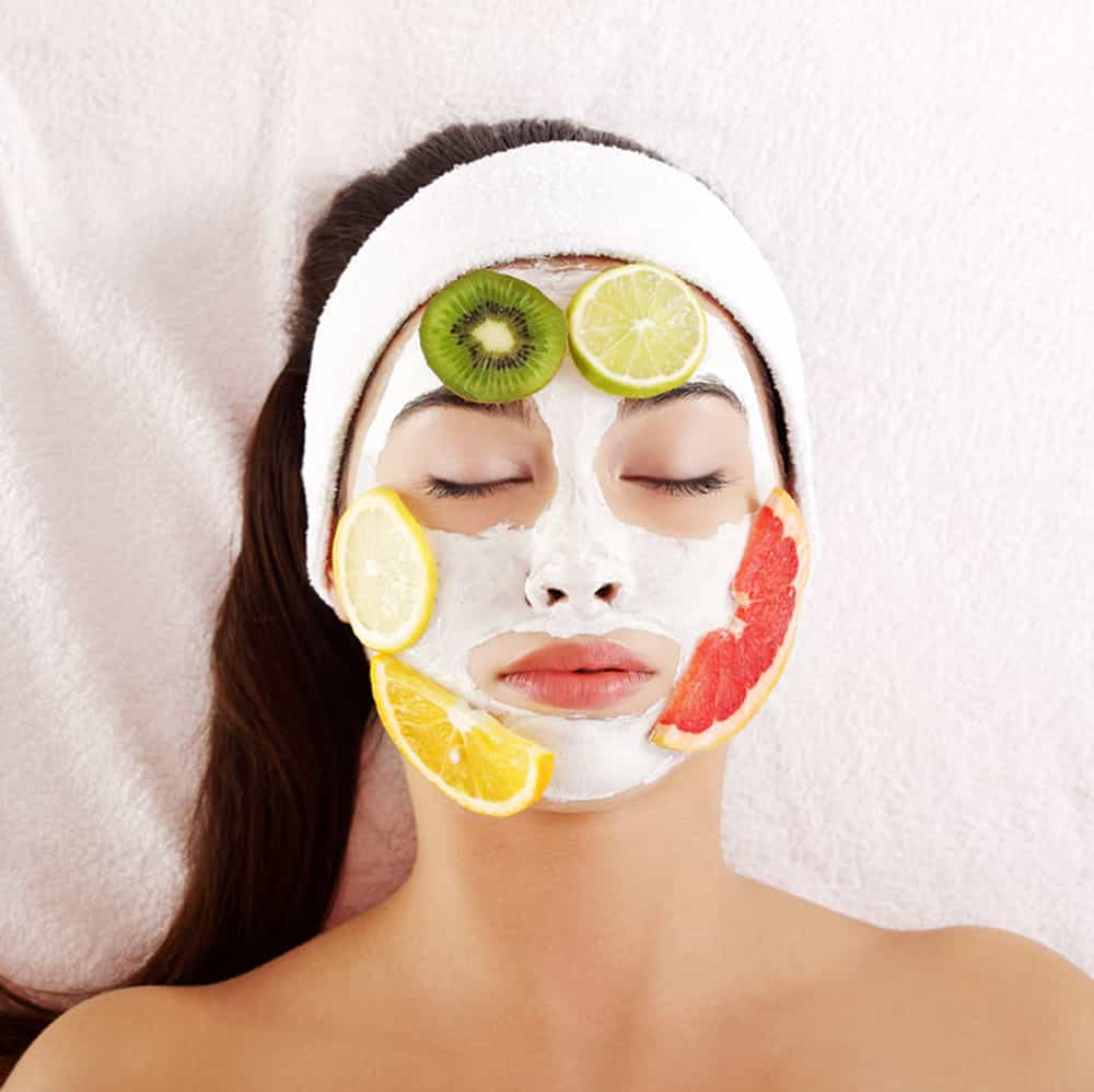 Fruit Facial in Parlour