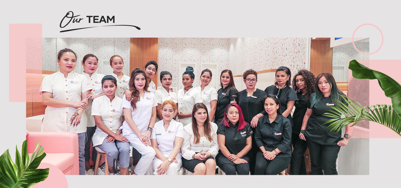 IBN Battuta Salon Staff